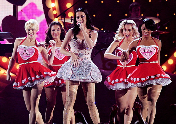Katy Perry Grammys 2011