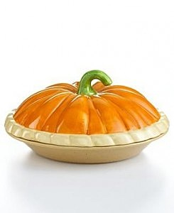 pumpkin pie ceramic