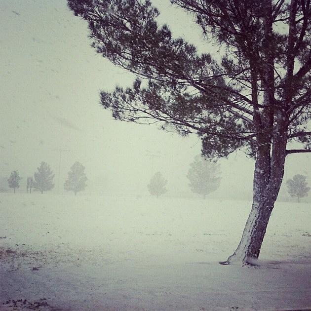 El Paso Snow