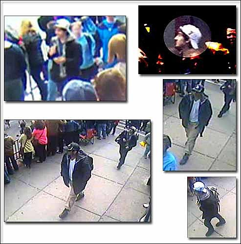 Boston Marathon Bomber Suspects