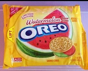 oreo watermelon cookies
