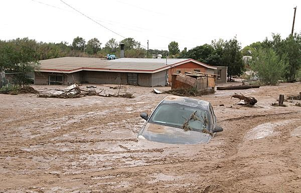 Flooding Causes Problems For El Paso County Residents