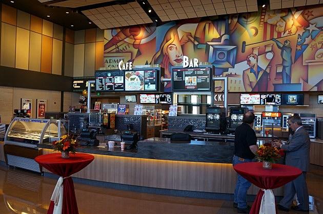 Cinemark Bistro El Paso Food Menu