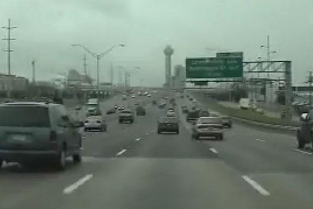 Busy freeway
