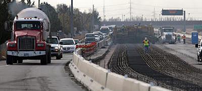 I-10 Lane Closures Today