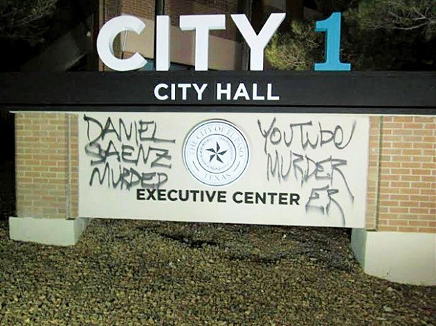 EP City HAll Vandalized