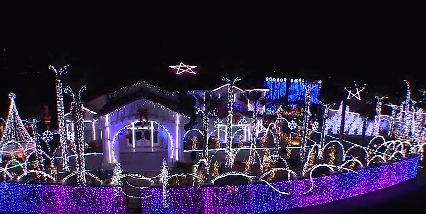 fred loya christmas lights 2014 schedule