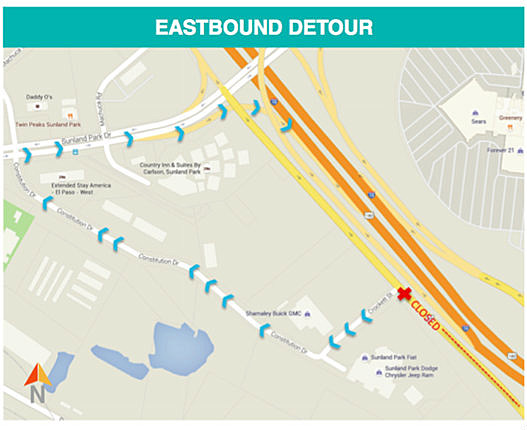 Paisano Drive Closure Takes Place This Sunday June 12