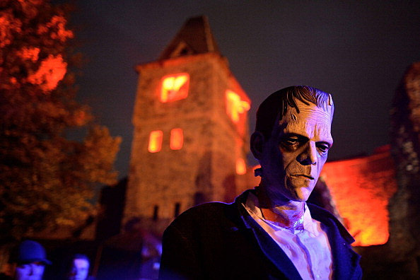 Frankenstein Castle Celebrates Halloween