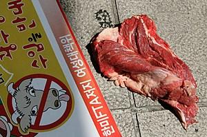 American Beef Returns To South Korean Supermarket Shelves