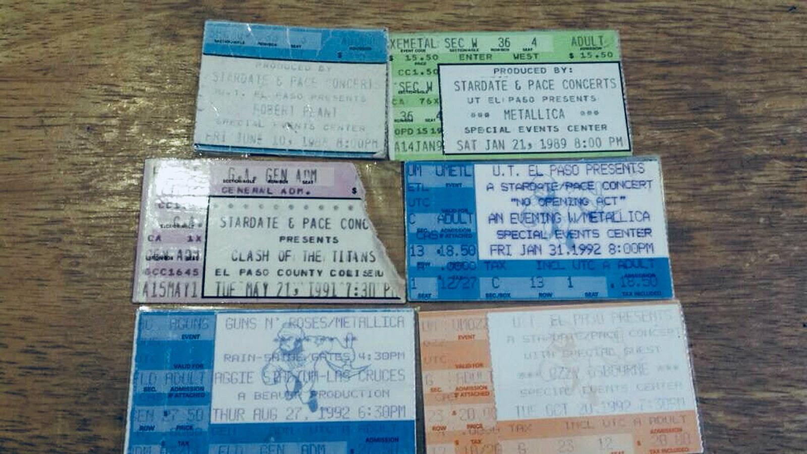 An Open Letter To El Paso Metallica Fans